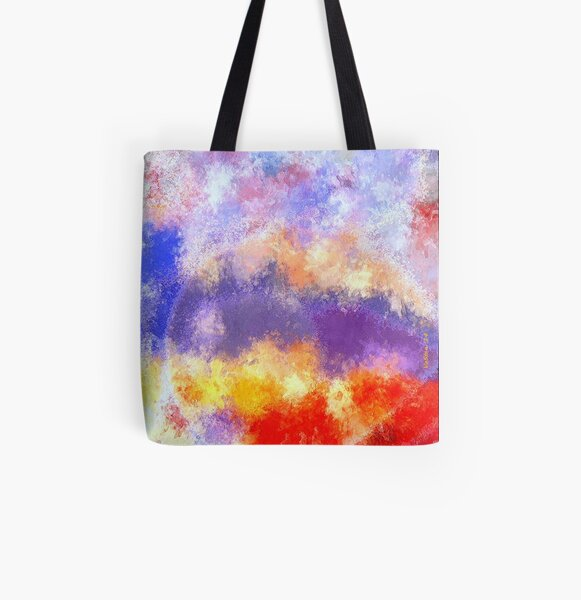 Desire: the skies are burning All Over Print Tote Bag