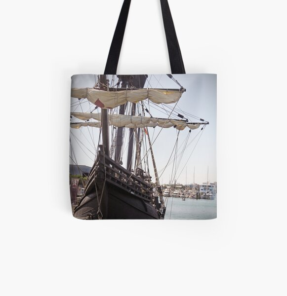 """The """"Nao Victoria""""  All Over Print Tote Bag"""