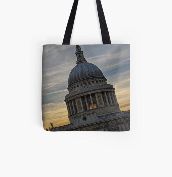 St Paul's Cathedral  All Over Print Tote Bag