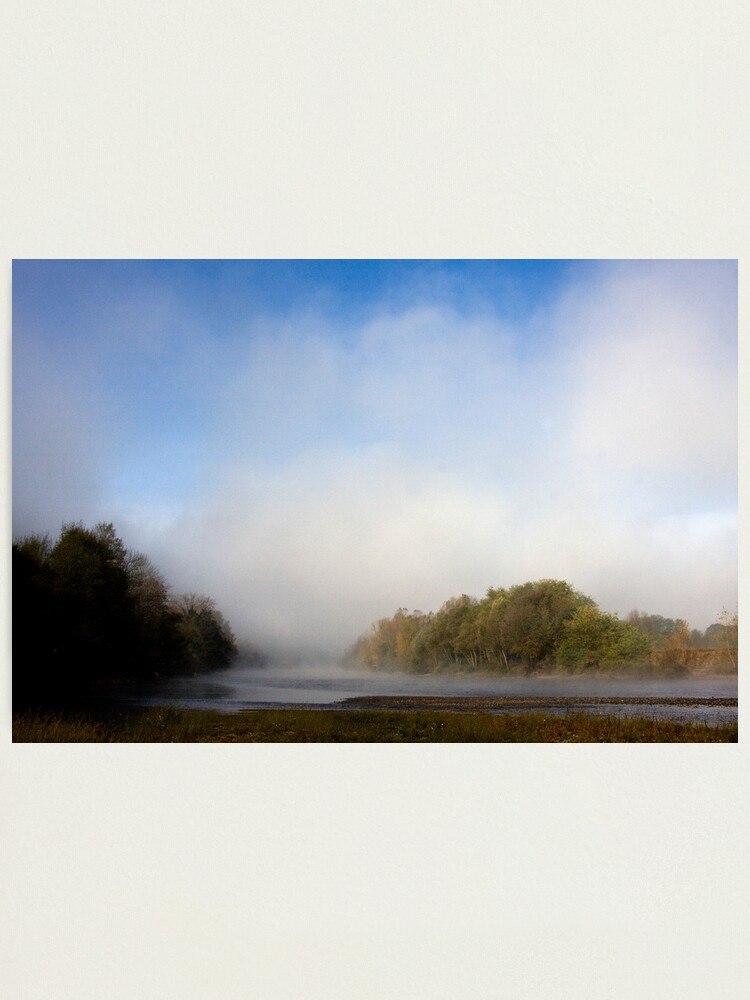 """Alternate view of """"Ma Dordogne""""... were the last words he spoke... Photographic Print"""