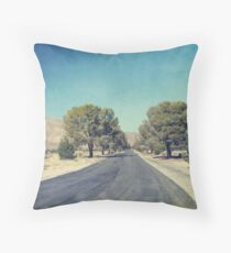 The Roads We Travel Throw Pillow