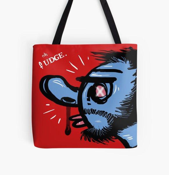 Oh Fudge. All Over Print Tote Bag