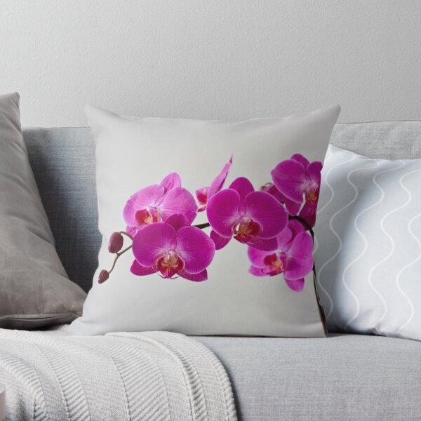 Fuchsia Magenta Throw Pillow