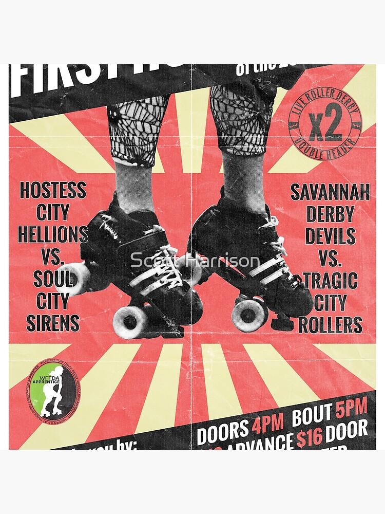 Savannah Derby Devils First Home Bout (2013) Poster von five5six