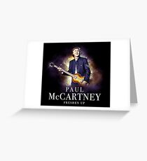 freshen mccartney up paul 1 Greeting Card