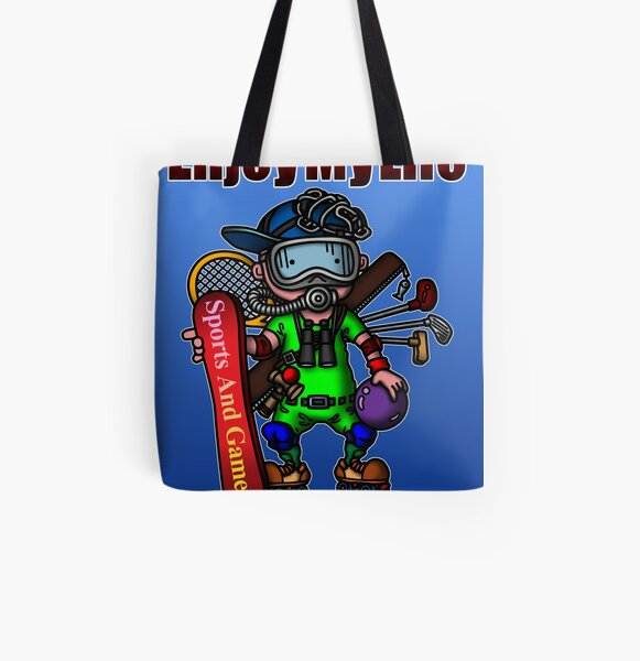 Enjoy my life All Over Print Tote Bag