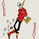 Joker Card by MushfaceComics