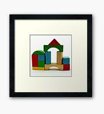 Nostalgic Toys Series - Blocks Framed Print