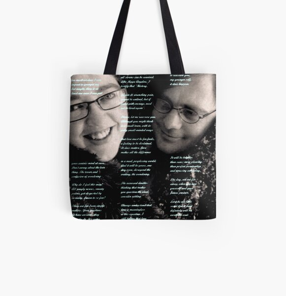 Dear Younger Me All Over Print Tote Bag