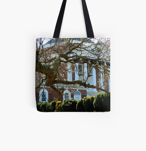 Early Spring on Campus-II All Over Print Tote Bag