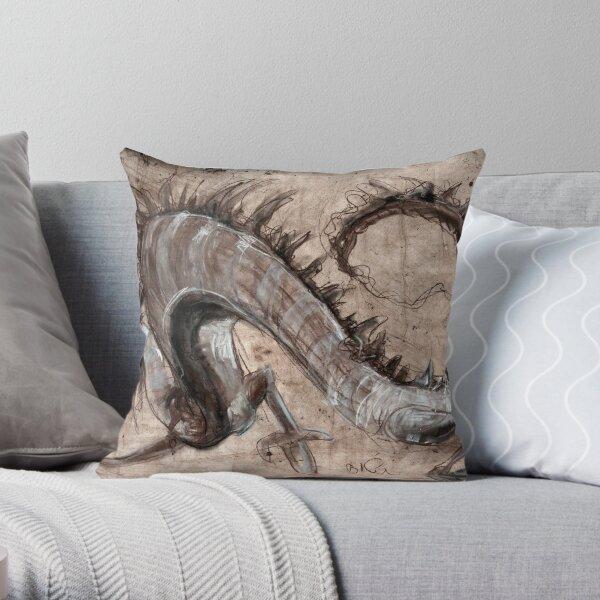 dragonmus Throw Pillow