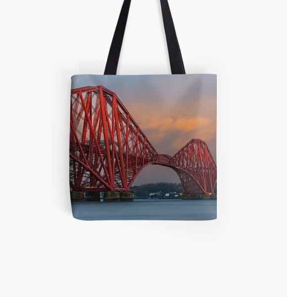 Forth Bridge (2) All Over Print Tote Bag