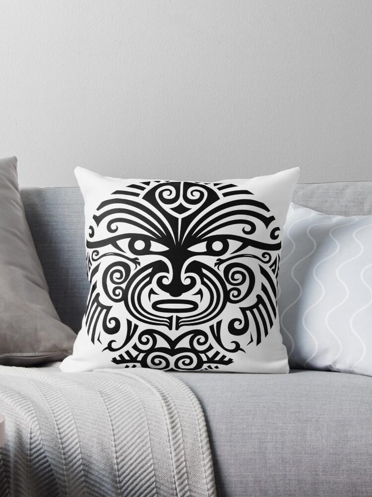 57a0ccc4a Maori tattoo face - white