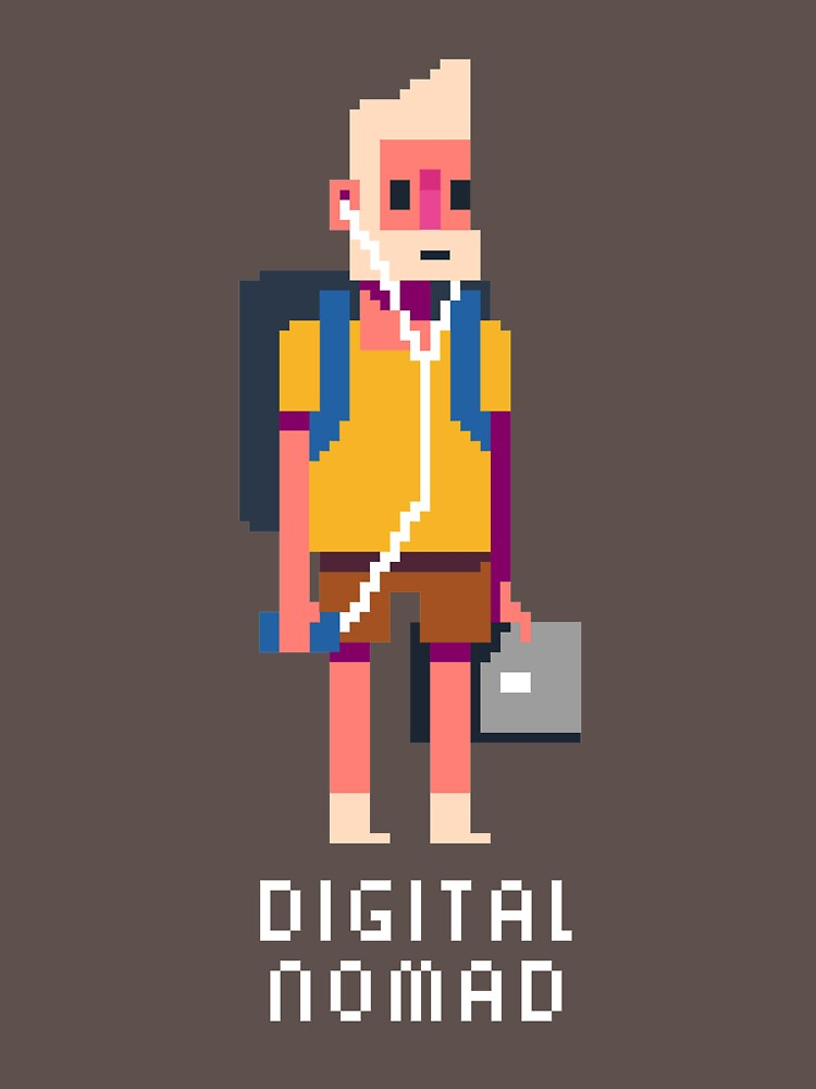 digital nomad by louros