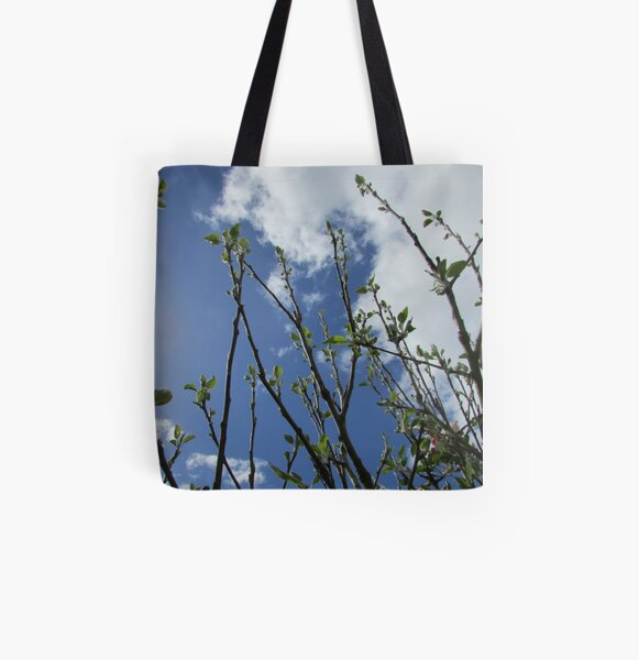 the apple tree's faith is rewarded All Over Print Tote Bag