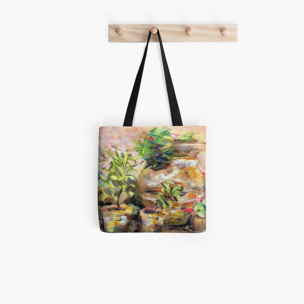 Garden Pots Tote Bag