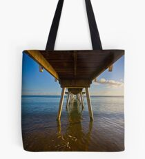 Under The Jetty Tote Bag