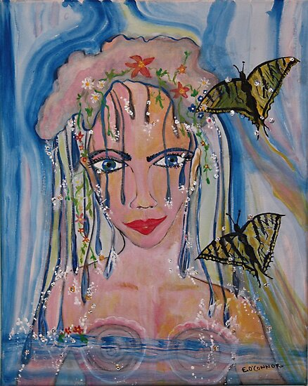 Summer Solstice and Butterfly  Goddesses 2010 by eoconnor
