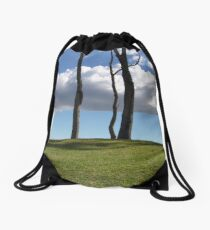 Over The Hill Drawstring Bag