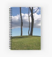 Over The Hill Spiral Notebook