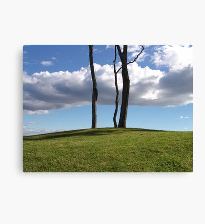 Over The Hill Canvas Print