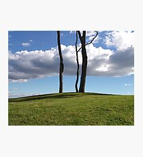 Over The Hill Photographic Print