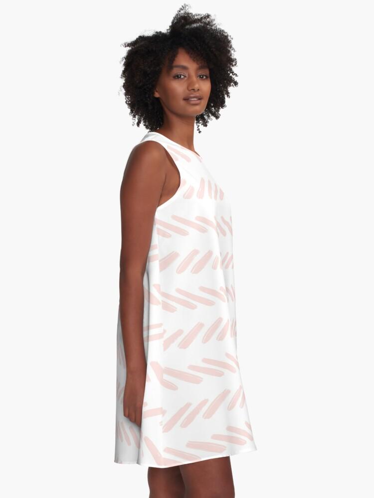 Alternative Ansicht von Boho-Chic geometrisches Muster A-Linien Kleid