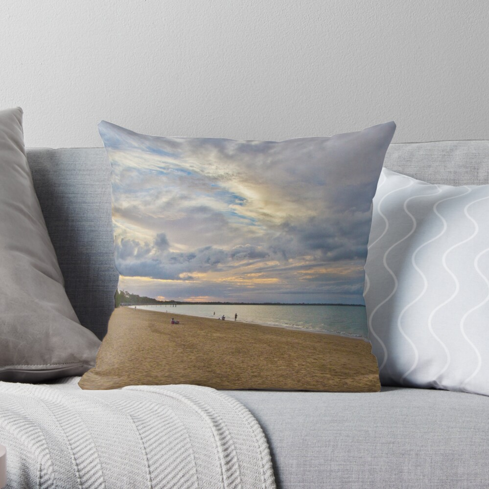Harvey Bay Throw Pillow
