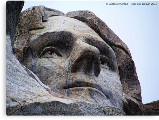 Jefferson on Rushmore by rocamiadesign