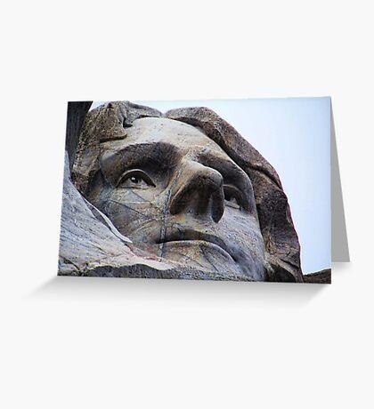 Jefferson on Rushmore Greeting Card