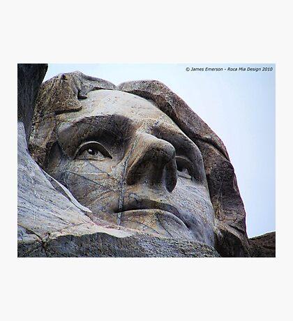 Jefferson on Rushmore Photographic Print