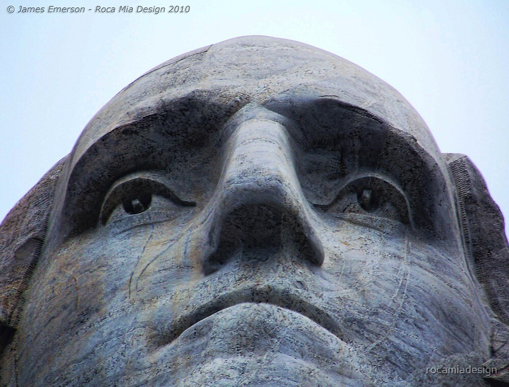 Washington on Rushmore by rocamiadesign