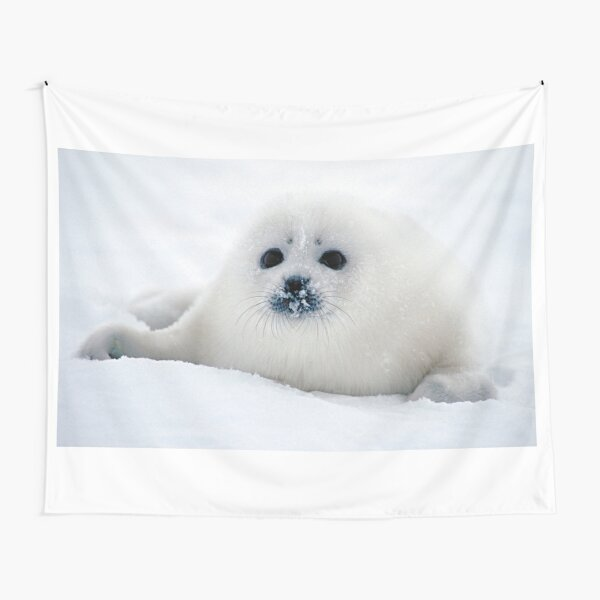 Ice puppy Tapestry