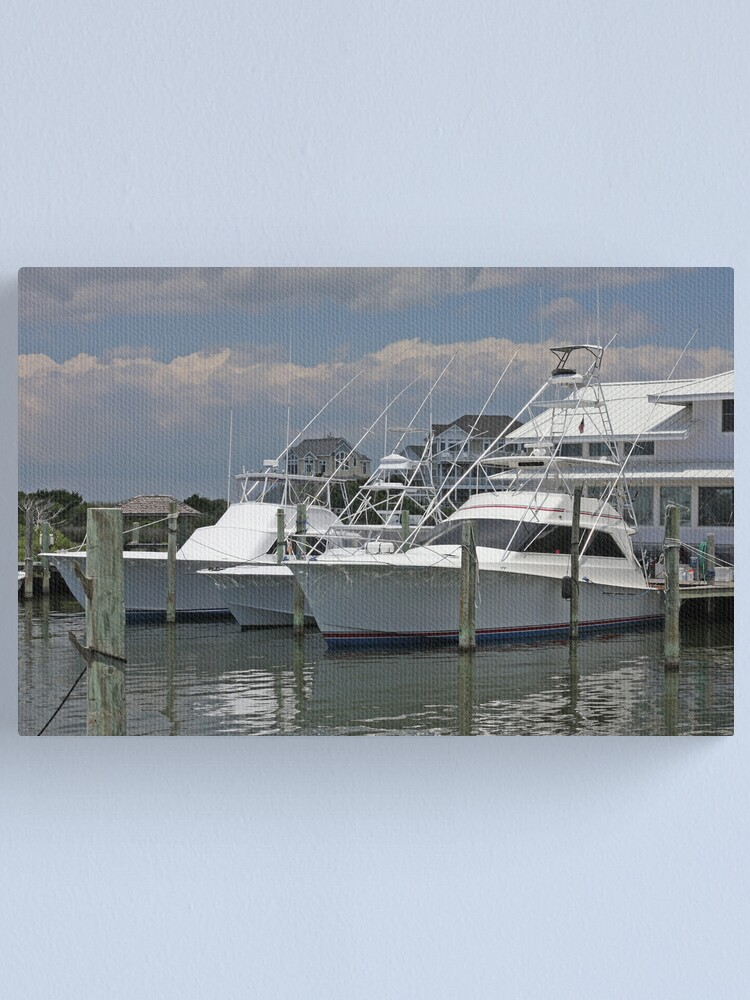 Alternate view of Boats Canvas Print