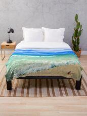 Beach Treasure Throw Blanket