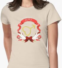 Sailor Signs - Mars Womens Fitted T-Shirt