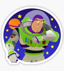 Toy Story Buzz Lightyear Space Ranger Sticker