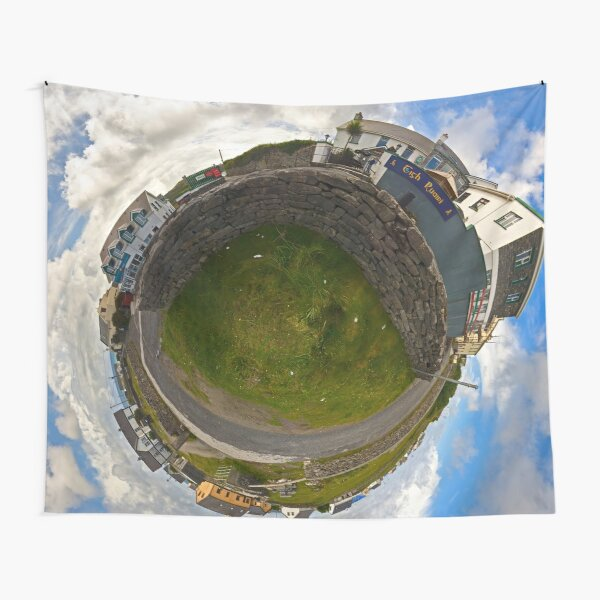 Tigh Ruairi - Inisheer Village (Sky out)  Tapestry