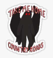Mothman, Country Roads Sticker