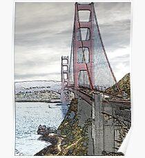 No Toll North - Golden Gate Bridge Poster