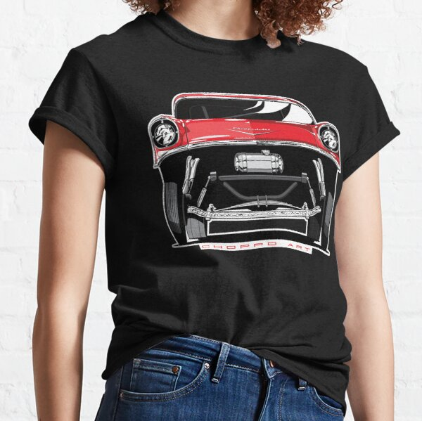 57 Chev Gasser - Red Classic T-Shirt