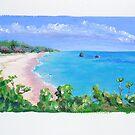 Warwick Long Bay, Bermuda by triciamary