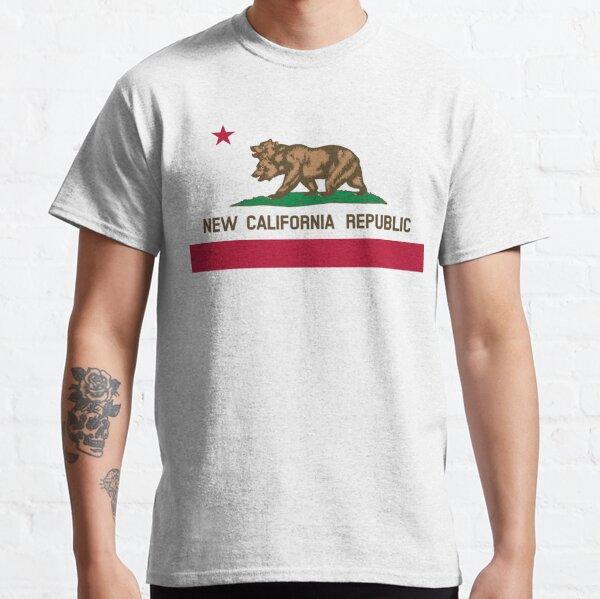 New California Republic Flag Classic T-Shirt