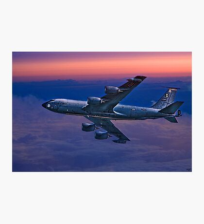 USAF Supertanker Flies On A Dawn Mission Photographic Print