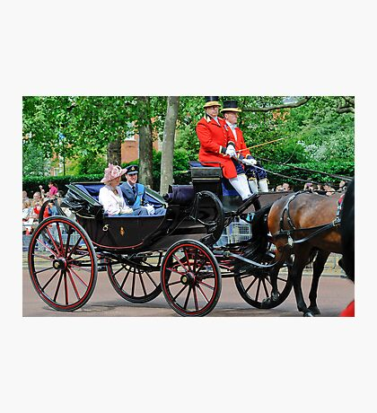 Prince William and Princess Alexandra: Trooping the Colour 2010 Photographic Print