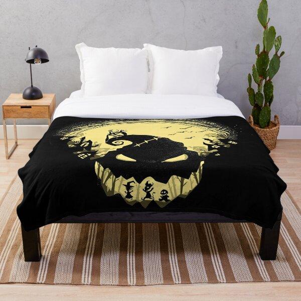 Jack's Nightmare Throw Blanket