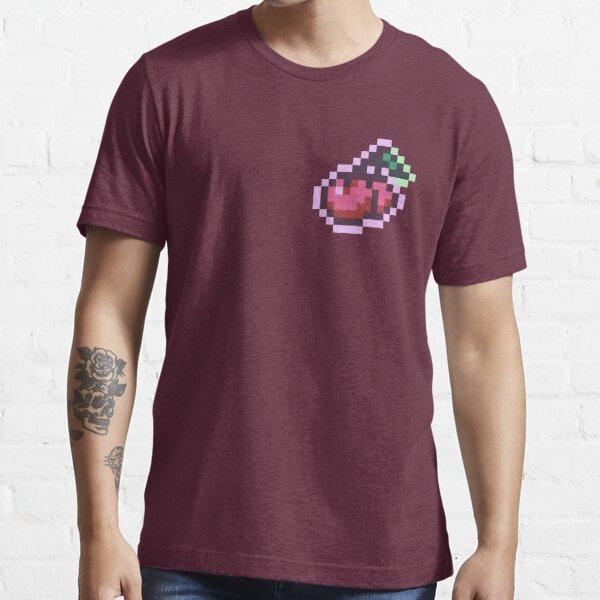Retro Pixel Art Cherries Essential T-Shirt