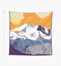 Tela decorativa Cartel de ciclismo retro Live to Ride, Ride to Live