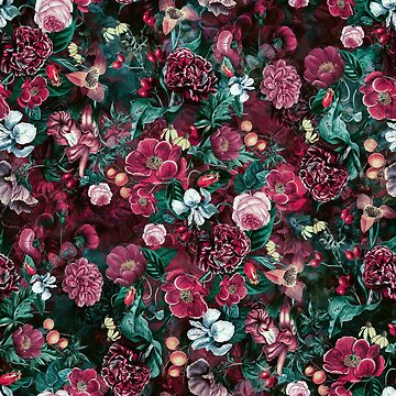 Night Garden Red by rizapeker