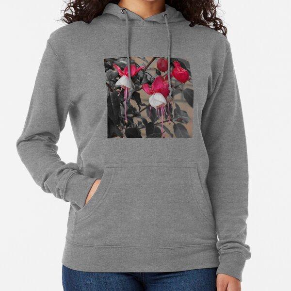 Red Fuchsia  Lightweight Hoodie